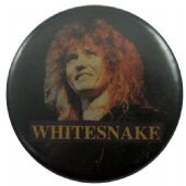 Whitesnake - 'David Black' Button Badge